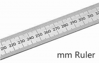 photo relating to Printable Mm Ruler named Authentic Dimensions Ruler The On-line Vitrual Display screen Ruler (MM,CM,INCH)