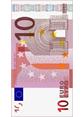 10 Euro Note(Width)